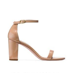 New Stuart Weitzman Nearly Nude Sandals